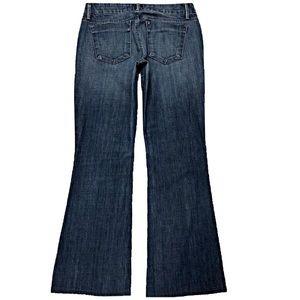 Joe's Honey 29X29.5 Flare Stretch Blue Jeans